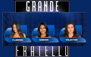 Foto di Floriana, Sabrina e Valentina al GF