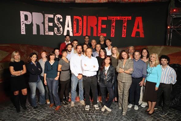 la squadra di Riccardo Iacona
