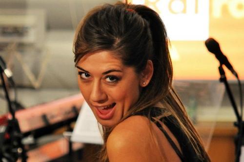 La comica Virginia Raffaele
