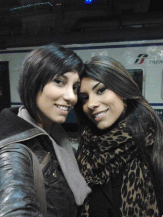 Sorelle Pierini e Roberta Ruiu