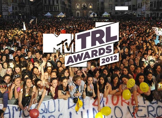 mtv-trl awards 2012