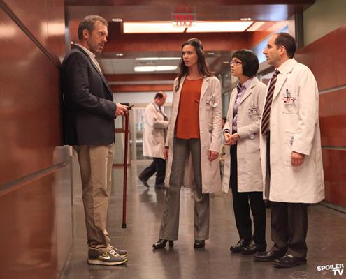 foto scena serie tv dr house 8