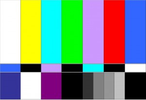 barre colorate tv