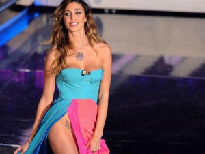 Belen Rodriguez a Sanremo 2012