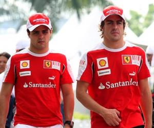 Massa e Alonso, politi di Formula 1