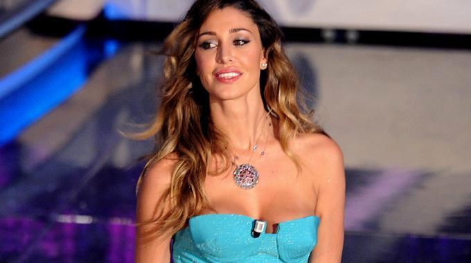 La showgirl Belen Rodriguez