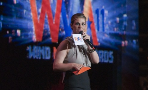 vanessa incontrada ai wind music awards