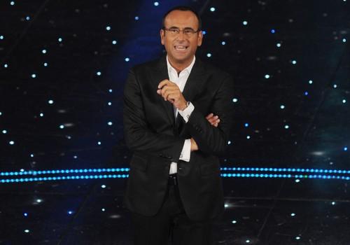 Una foto del conduttore televisivo Carlo Conti
