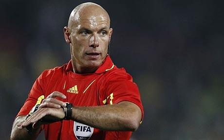 Howard Webb arbitra Italia - Croazia