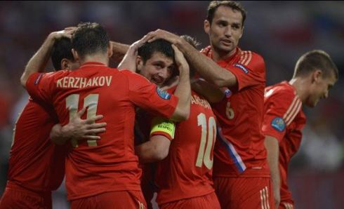 La partita Russia-Rep Ceca vince la serata