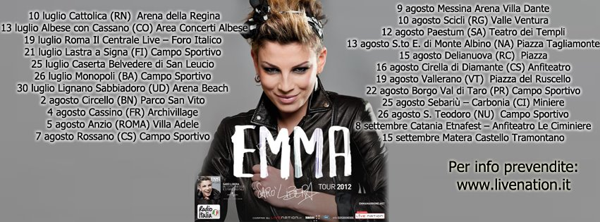 Emma Marrone Tour 2012
