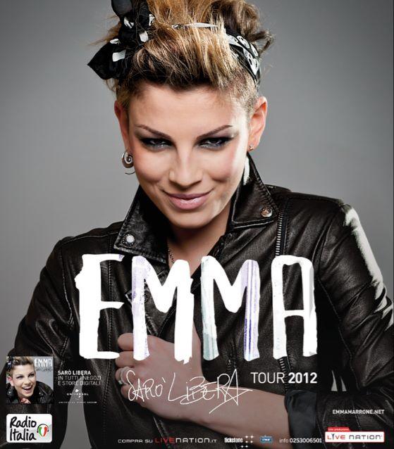 Emma Marrone Tour estivo 2012