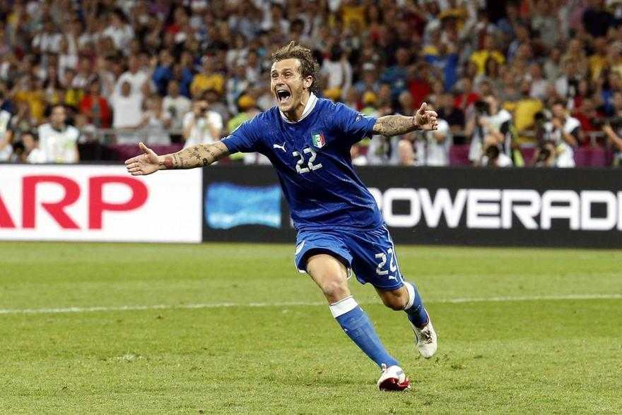 foto del calciatore alessandro diamanti euro 2010