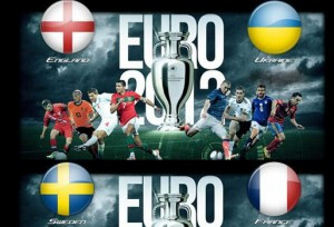 Foto di inghilterra-ucraina e svezia-francia Euro 2012