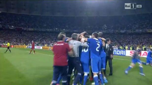 Foto Italia passaggio alla semifinale Euro 2012