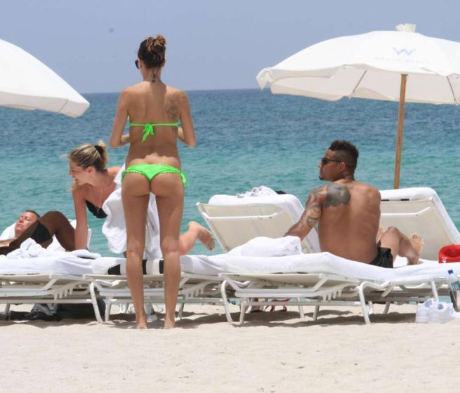 Melissa Satta hot a Miami
