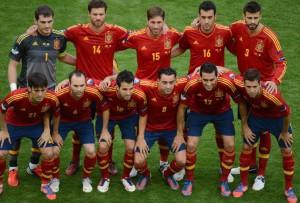 La nazionale spagnola
