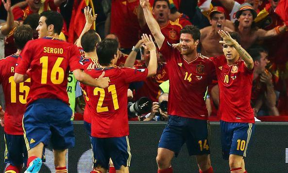Boom per Italia-Spagna