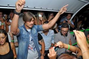 Francesco Monte solo in discoteca
