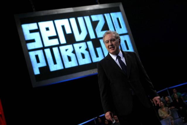 Michele Santoro a La7 con Servizio Pubblico