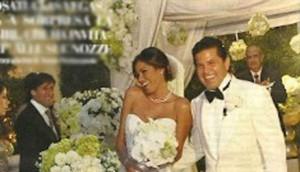 Aida Yespica e Leonardo Gonzales matrimonio a sorpresa