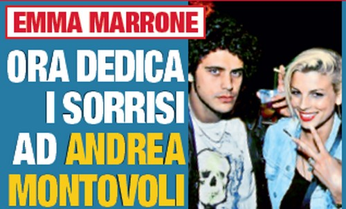 Foto di Emma Marrone e Andrea Montovoli fidanzati