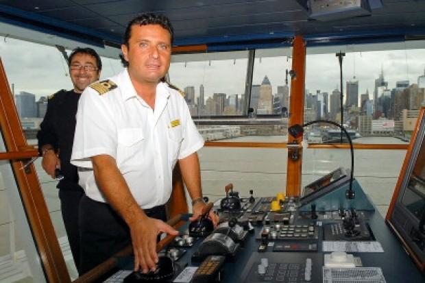 Foto di Francesco Schettino comandante Costa Concordia
