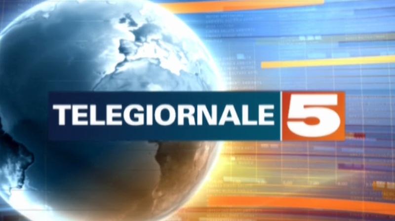 il logo del tg5