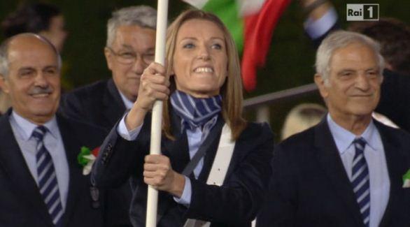 Foto di Valentina Vezzali Olimpiadi Londra 2012