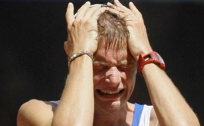 Foto Alex Schwazer scandalo doping Olimpiadi Londra 2012