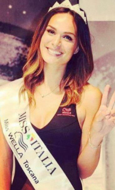 Foto di Diletta Innocenti Fagni in finale a Miss Italia 2012