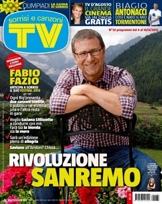 Fabio Fazio conduttore di Sanremo 2013