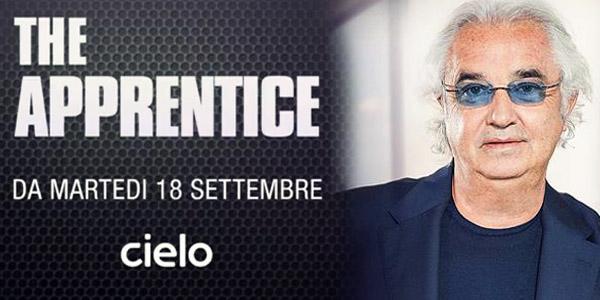 flavo briatore the apprentice cielo tv 18 settembre talent imprenditoria