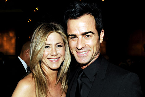 Jennifer Aniston e Justin Theroux si sposano