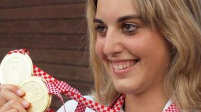 Foto di Jessica Rossi Olimpiadi Londra 2012