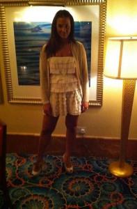 Foto di Rosa Baiano in vacanza a Dubai