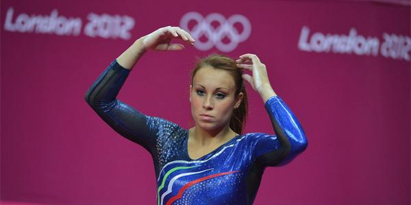 vanessa ferrari olimpiadi londra 2012 mtv ginnaste