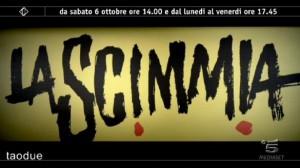 Foto promo di La scimmia su Italia 1