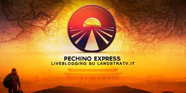 pechino express logo prima puntata live blogging lanostratv