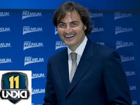 Su Italia2 arriva Undici, il programma sportivo di Pierluigi Pardo