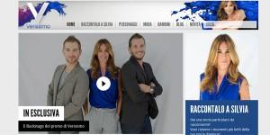 sito internet web magazine verissimo silvia toffanin canale cinque