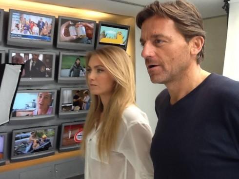 Alessio Vinci e Sabrina Scampini conducono Domenica Live