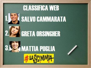 Foto classifica La Scimmia su Italia 1