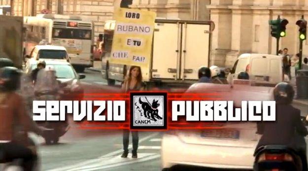 Servizio pubblico dal 25 ottobre su La7: il promo ritirato