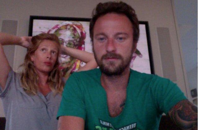 Foto di Alessia Marcuzzi e Francesco Facchinetti che si sono lasciati