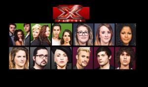 Foto concorrenti X Factor 6