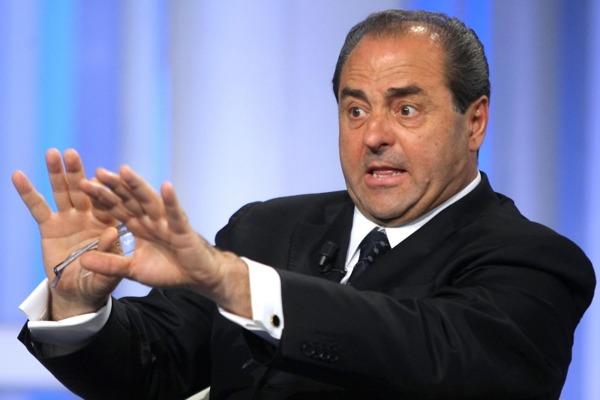Antonio Di Pietro contro le tv