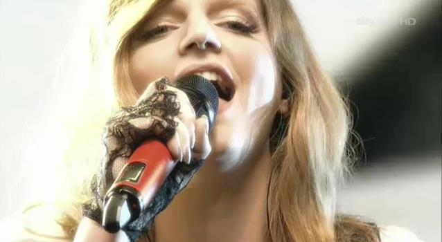 La cantante Chiara Galiazzo a X Factor