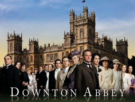 foto serie tv downton abbey