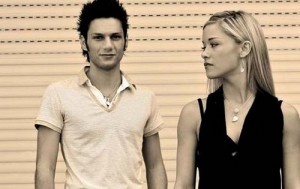 Foto di Luca Napolitano e Alice Bellagamba ex fidanzati